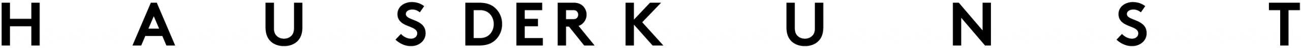 Logo Haus der Kunst